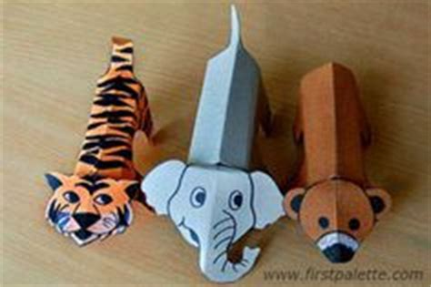 How To Make Animals Out Of Paper - 1000 ideas about paper animals on paper toys