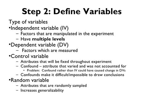 controlling definition the 5 step approach to controlled experiment design for