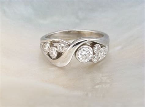 Handmade White Gold Rings - handmade rings wedding promise