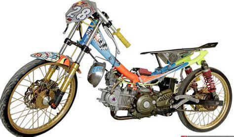 Gambar Motor Modifikasi Keren by 50 Gambar Modifikasi Jupiter Z Gagah Keren Modif Drag