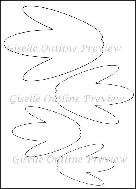 flower template pdf printable flower templates diy paper flowers