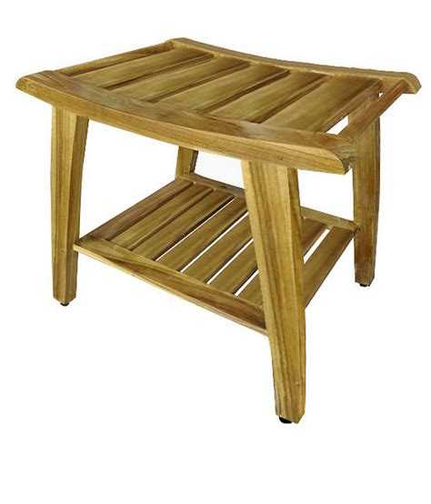 teakwood benches the art of folding teak wood shower bench spotlats