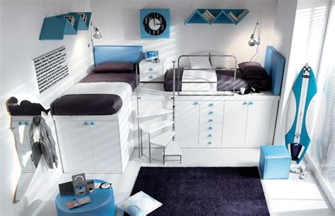 loft beds for teens colorful teenage loft bedrooms by tumidei digsdigs