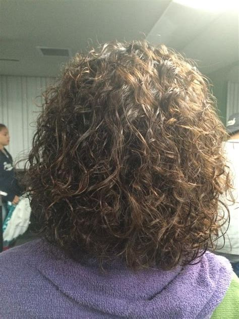 home perm on natural grey hair perms gray and curls on pinterest