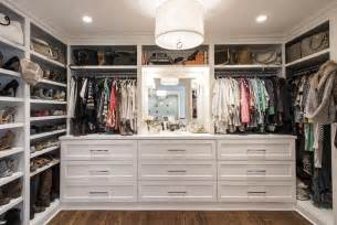 Modern walk in closet built in dressers built in closet shelves bag