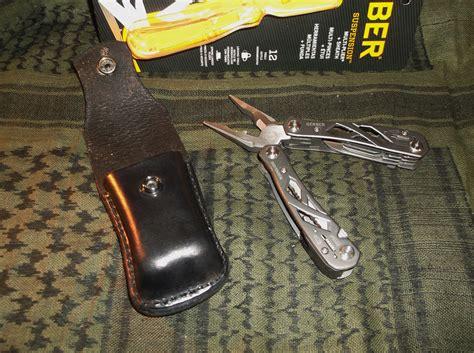 gerber leather sheath gerber suspension multi tool lock blade w custom form