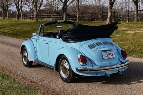 blue volkswagen convertible blue volkswagen beetle convertibles for sale used cars on
