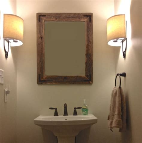 cabin bathroom mirrors log mirror frames rustic bathroom sinks bath mirrors bar