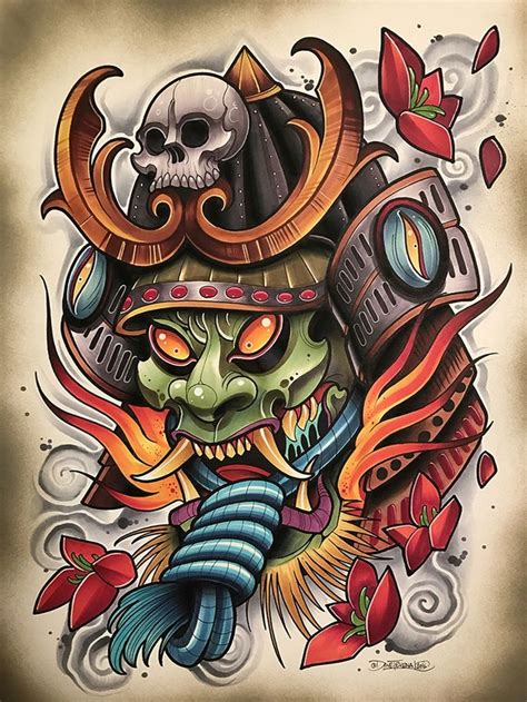 oni mask tattoo designs image result for oni mask oni mask