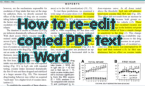 convert pdf to word no text boxes how to convert pdf to word with no extra software youtube