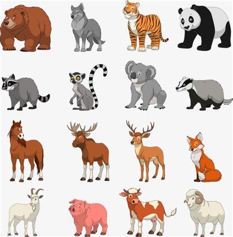 imagenes de animales acuaticos y terrestres vector los animales terrestres animales de la tierra