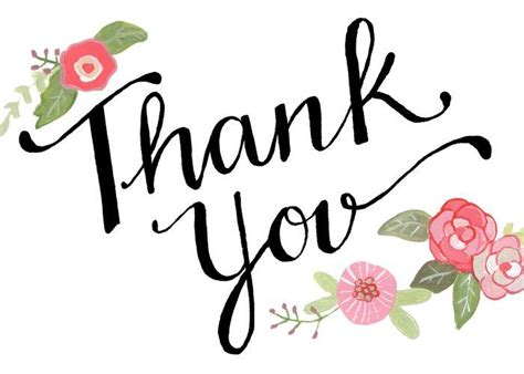 Thank You Much Clipart by Free Clipart Thank You Free Best Free Clipart