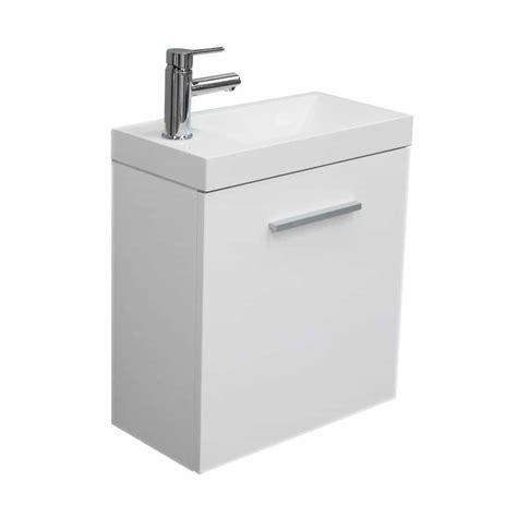lavabo wc met kastje fonteinkastje emma met wastafel wit