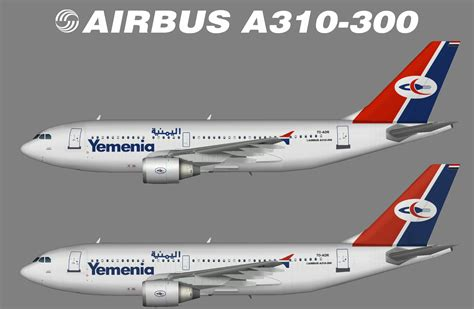 Iran Air Airbus A310 300 yemenia airbus a310 300 juergen s paint hangar