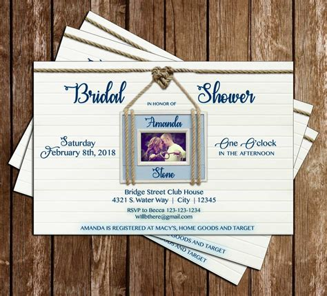 tie the knot bridal shower novel concept designs nautical tying the knot bridal