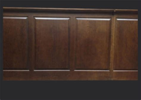 Stained Wainscoting Panels Radius Cabinet Doors And Specialty Taylorcraft Cabinet