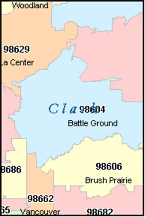 Clark County Address Search Clark County Washington Digital Zip Code Map