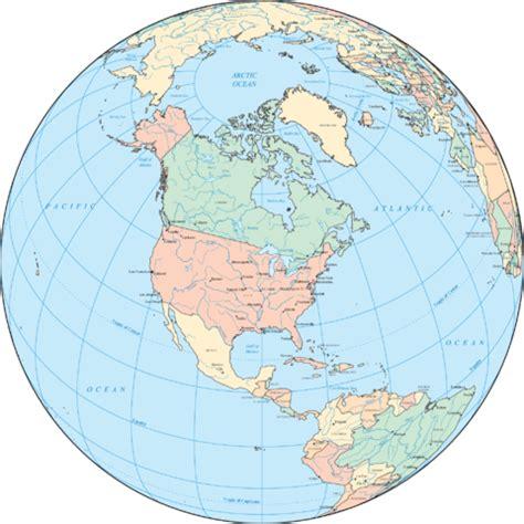 america map globe america on the globe
