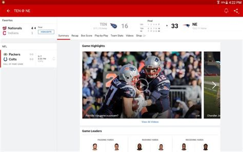 espn app for android espn app updated with chromecast and live