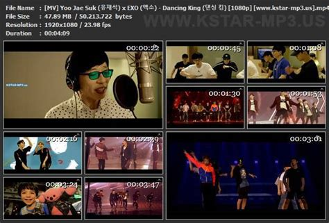 download mp3 exo dancing king yoo jae suk kstar mp3