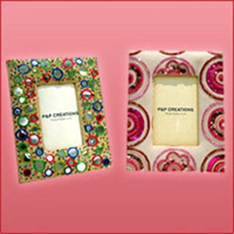 Handcrafted Picture Frames - handmade photo frames 100 export oriented unit from noida