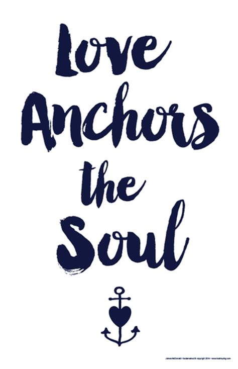 Items Similar To Love Anchors - love anchors the soul i lost my dog