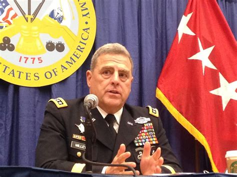 gen mark milley new csa gen milley is a soldier s soldier from far