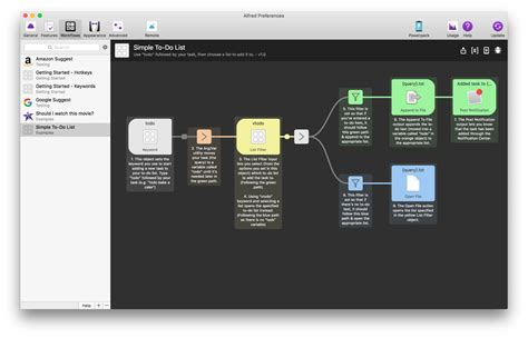 alfred app workflows alfred powerpack take of your mac and os x