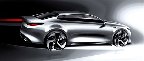 Kia Designer 2016 Kia Optima Midsizesedan Design Renderings