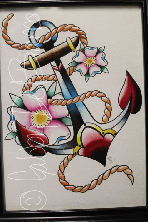 traditional anchor tattoo designs 17 best images about ancoras on traditional