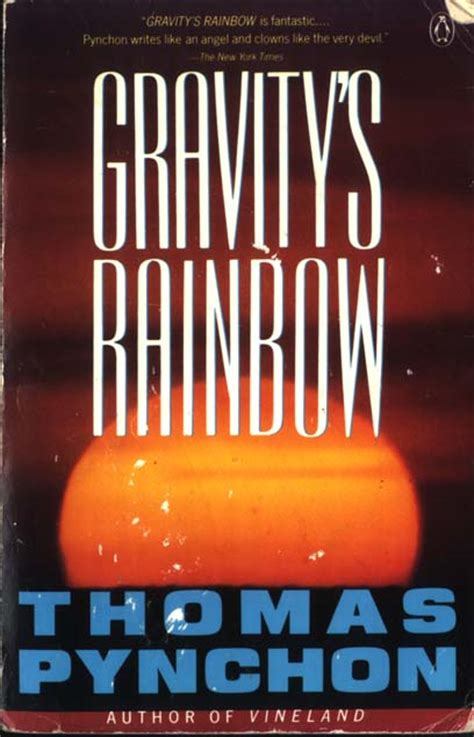libro gravitys rainbow vintage gravity s rainbow cover art