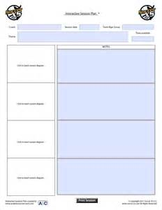 coaching session template soccer coaching plan template images