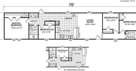 mobile home floor plans 4 bedroom search