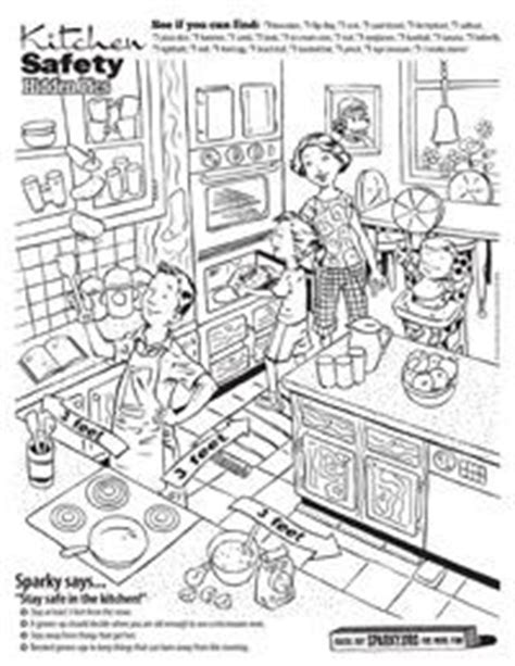 Home Safety Worksheets For by Safety In The Home Worksheets Kitchen Search