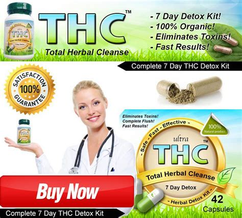 Marijuana Detox Kits Do They Work by Thc Detox Kit To Pass Test For Best Thc Detox