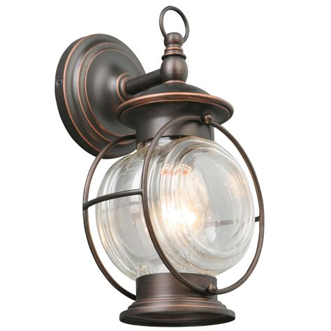 Patio Lights Lowes Shop Portfolio Caliburn 12 25 In H Rubbed Bronze