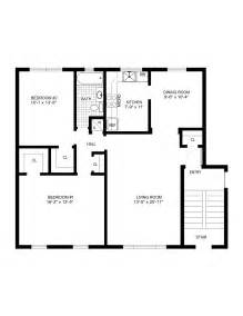 Easy Floor Plan by Gallery For Gt Simple House Floor Plan With Measurements