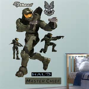 fathead halo master chief wall graphic halo xbox video game vinyl wall sticker 34h by