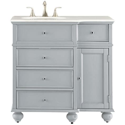 Home Depot Home Decorators Vanity by Home Decorators Collection Hampton Harbor 36 In Vanity In