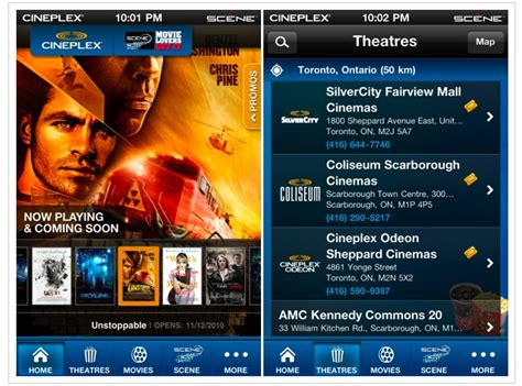 cineplex mobile cineplex mobile app being released tomorrow