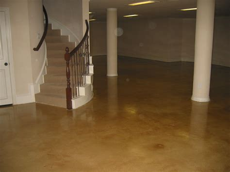 Diy Floor L Best Stained Concrete Basement Floor Ideas New Basement And Tile Ideas