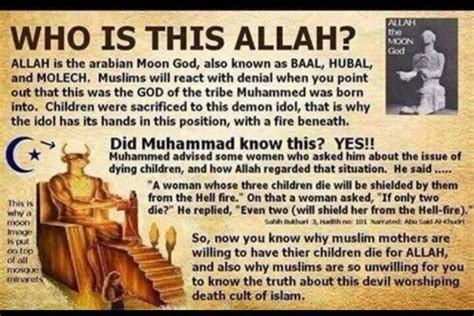 Counterfeit Gods Allah Allah Palsu is allah the god almighty of heaven