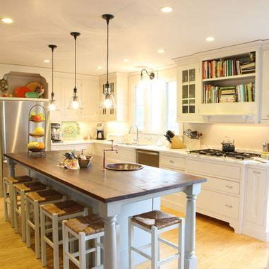long kitchen islands 1000 ideas about long narrow kitchen on pinterest