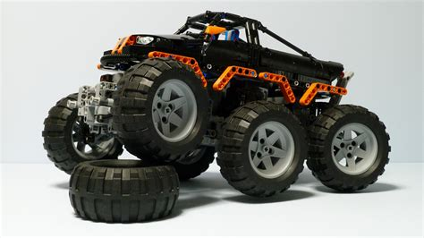 technic truck technic monster truck 6x6 youtube ellie