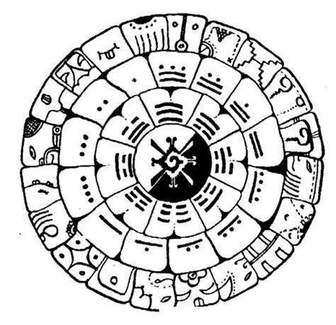 imagenes mayas para imprimir 13baktun calendario maya dibujo maya de 13bactun para