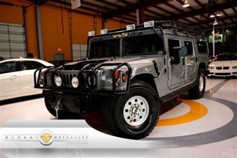 purchase used 98 hummer h1 wagon turbo diesel 4wd monsoon