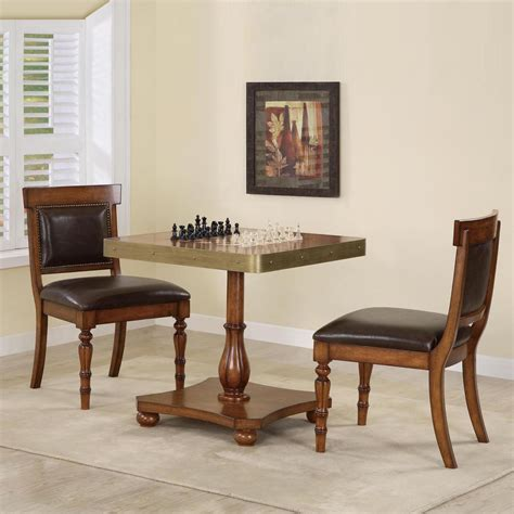 chess table and chairs chess sets pieces boards shop hayneedle for the home