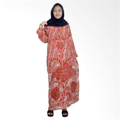 Daster Batik Longdres Biru jual batik alhadi lpt001 55d longdres batik lengan panjang baju tidur harga kualitas
