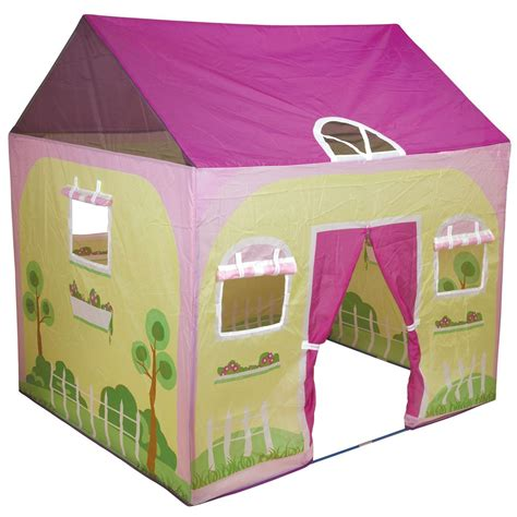 play tent house pacific play tents cottage play house 116264 toys at sportsman s guide