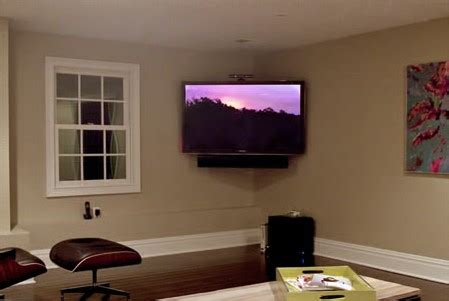 tv in corner of room surround sound how to mount your tv in a corner nextdaytechs on site technical services